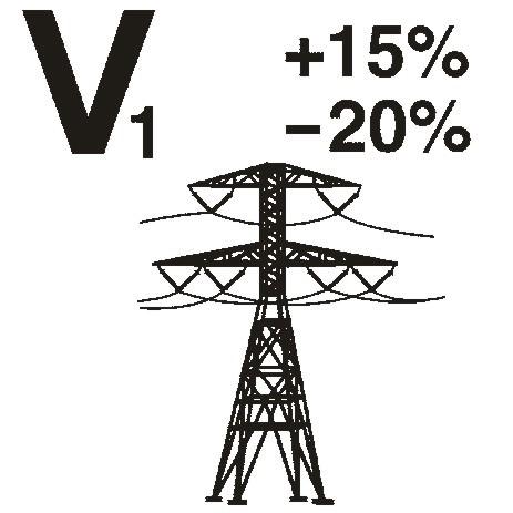 Compensazione tensione di rete +15% -20%