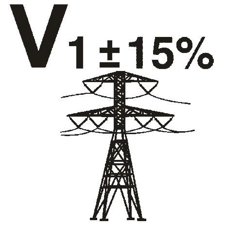 Compensazione tensione di rete ±15%