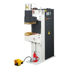 Vertical stroke spot and projection welders
